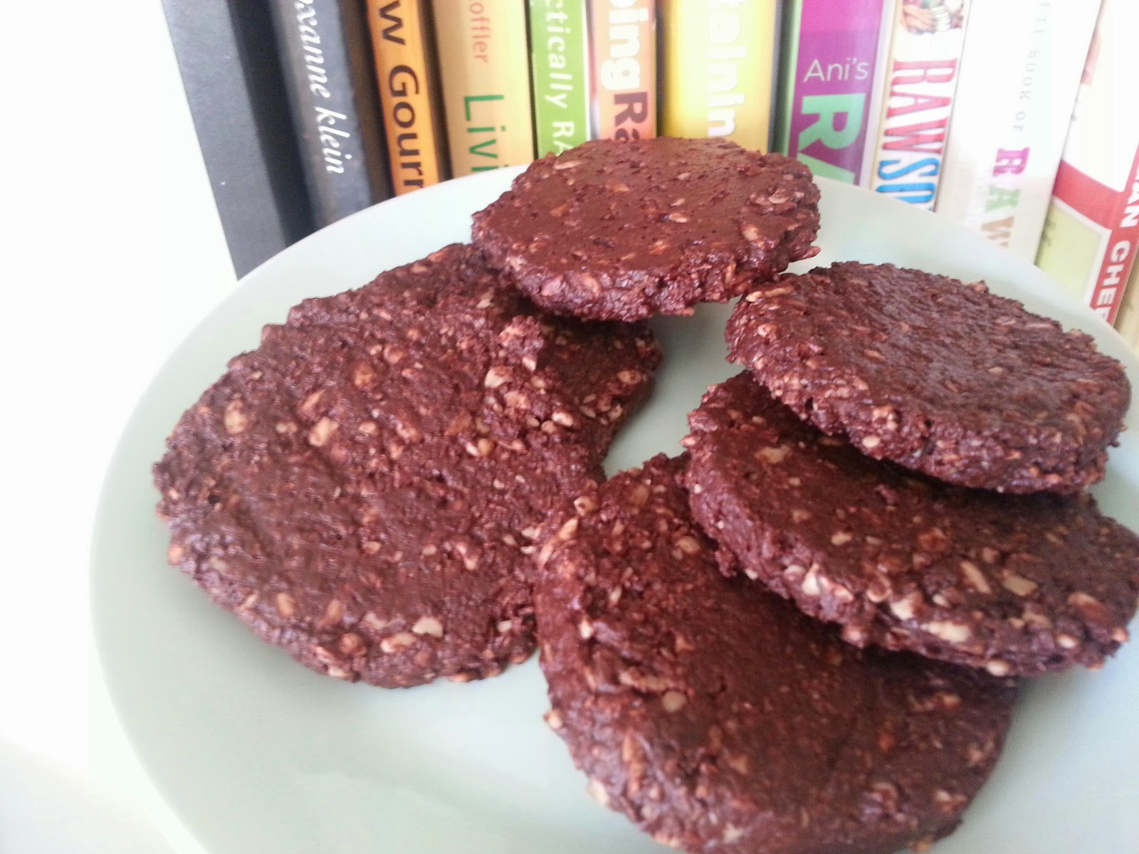 One blog to unite them all vegan bloggers unite come onwho doesnt like cookies they are sweet delicious chewy crumbly and handheld this is another super duper easy to make raw food recipe that forumfinder Choice Image